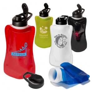 Flexi Flip-Top Water Pouch | 32 oz