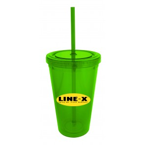 The Zanzibar 20 oz Insulated Tumblers-Green