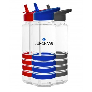 Custom Logo Water Bottles - The San Clemente Gripper Water Bottles