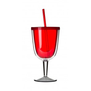 Delray Wine Cup | 12 oz - Red