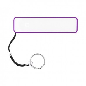 Personalized Karera Power Bank - Purple