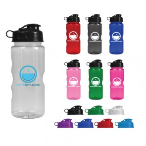 Wholesale Water Bottles - Mini Mountain - 22 oz. Tritan Bottles - Flip Lid