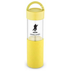 20 oz Mia Serenity Glass Water Bottles - Yellow