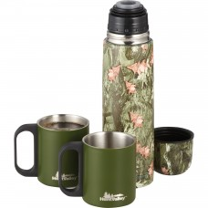 Green Personalized Insulated Bottles Set | 18 oz - Camouflage