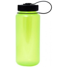 Key Lime Green Nalgene Wide Mouth Water Bottles | 16 oz