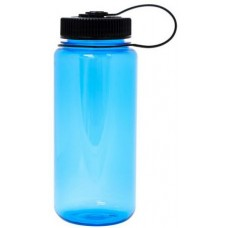 Light Blue Nalgene Wide Mouth Water Bottles | 16 oz