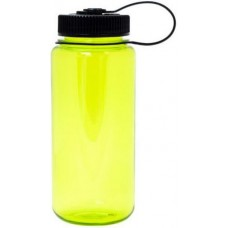 Neon Green Nalgene Wide Mouth Water Bottles | 16 oz