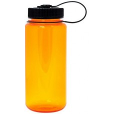 Orange Nalgene Wide Mouth Water Bottles | 16 oz