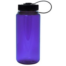 Purple Nalgene Wide Mouth Water Bottles | 16 oz