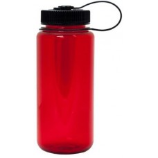 Red Nalgene Wide Mouth Water Bottles | 16 oz