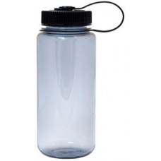 Black Nalgene Wide Mouth Water Bottles | 16 oz - Smoke