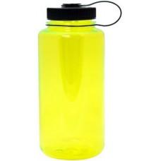 Neon Yellow Nalgene Wide Mouth Water Bottles   32 oz