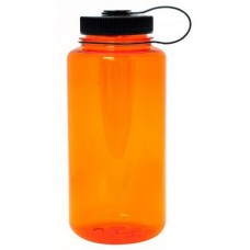 Orange Nalgene Wide Mouth Water Bottles | 32 oz
