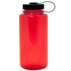 Red Nalgene Wide Mouth Water Bottles | 32 oz