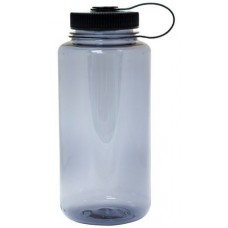 Black Nalgene Wide Mouth Water Bottles | 32 oz - Smoke