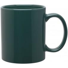 green 11 oz c-handle mugs-glossy