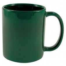 Green Cafe Mugs | 11 oz