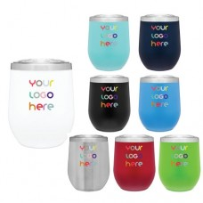 12 oz Powder Coated Thermal Tumblers
