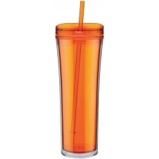 Orange Boost Acrylic Tumblers | 20 oz - Tangerine