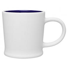 Blue 12 oz Turno Ceramic Mugs