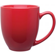 Glossy Red 15 oz bistro mugs