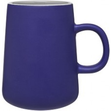 Blue 15 oz Inverti Ceramic Coffee Mugs