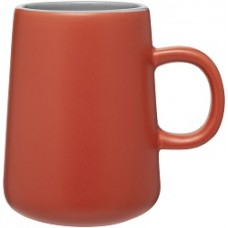 Orange 15 oz Inverti Ceramic Coffee Mugs