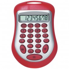 Red Branded Expo Calculator