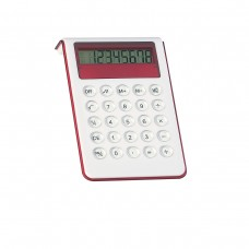 Red Personalized Large Calculator With Sound