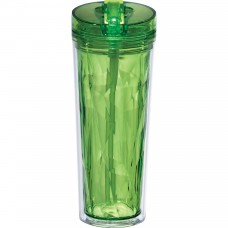 Green Personal Flip and Sip Tumblers   18 oz