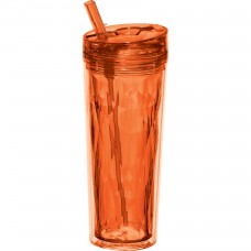 Orange Personal Flip and Sip Tumblers | 18 oz