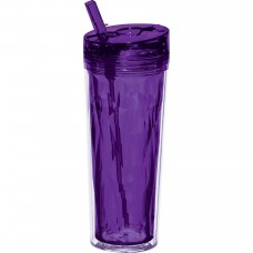 Purple Personal Flip and Sip Tumblers | 18 oz