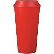 Red Double Wall Reusable Cup2Go | 16 oz