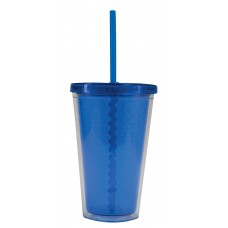 Royal Blue Freedom Facet Tumblers | 16 oz