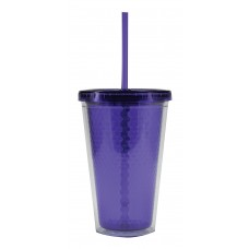 Purple Freedom Facet Tumblers | 16 oz
