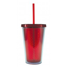 Red Freedom Facet Tumblers | 16 oz