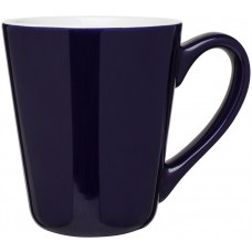Blue 16 oz Vito Ceramic Coffee Mugs