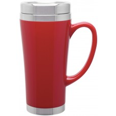 Red Fusion Insulated Travel Mugs | 16 oz