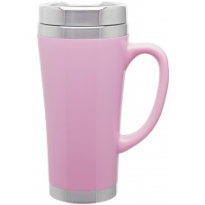 Pink Fusion Insulated Travel Mugs | 16 oz
