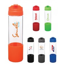 H2Go Pure Glass Water Bottles | 18 oz