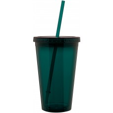 Blue 16 oz spirit tumbler-teal