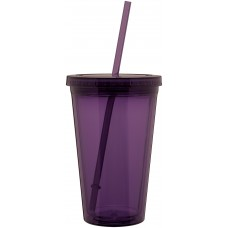 Purple 16 oz spirit tumbler-eggplant purple