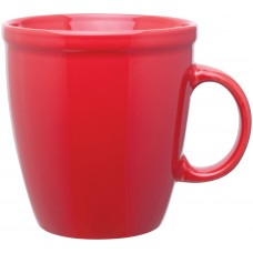Red 18 oz coffee house mugs