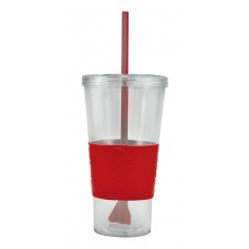 Red Double Wall Revolution Tumblers   20 oz