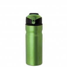 Metallic Green Aluminum Water Bottles | 24 oz
