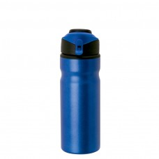 Metallic Blue Aluminum Water Bottles | 24 oz