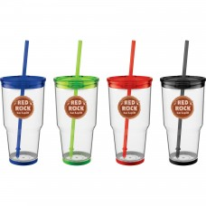 24 oz Biggie Tumbler with Straw