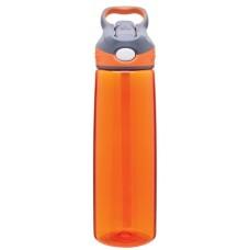 Orange Contigo Addison Plastic Water Bottles   24 oz