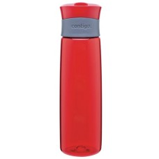 Red Contigo Madison Plastic Water Bottles | 24 oz