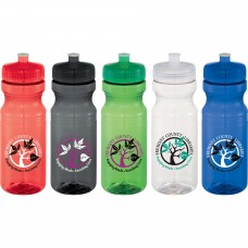 24 oz Cyrstal Easy Squeezy Sports Bottle
